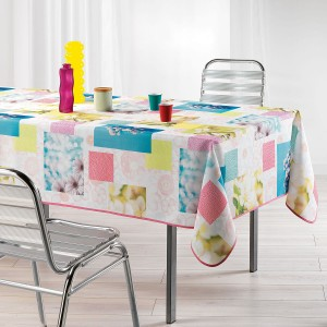 Nappe de table 150x240cm Aquarella toucher soft