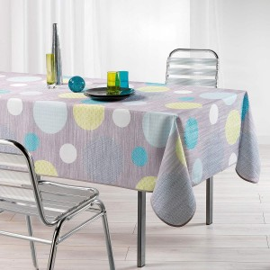 Nappe de table 150x240cm Atolls anis toucher soft