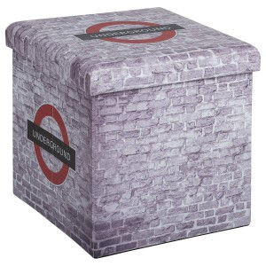Pouf pliant London Wall