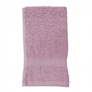 Serviette de toilette rose dragée