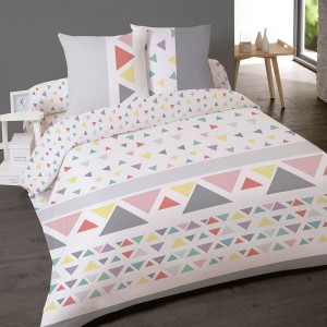 Housse couette 200x200 + 2 taies STOCKHOLM
