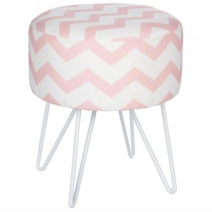 Tabouret Rose Hello