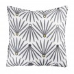 Coussin passepoil 40x40 cm Evy Side