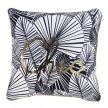 Coussin passepoil 45x45 cm Or Chikita