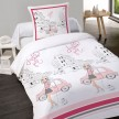 Housse couette 140x200 + 1 taie FASHION GIRL