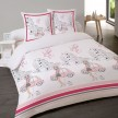 Housse couette 200x200 + 2 taies FASHION GIRL