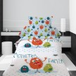 Housse de couette 140x200 Family monster