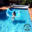 Lounge piscine Ghost ambiance