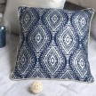 Coussin Lustre marine 40x40 cm situation