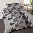 Housse de couette 200x200 NY Sightseeing 100% coton