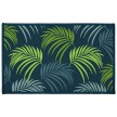 Tapis imprimé rectangle 50x80 cm Blue Vegetal