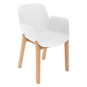 Fauteuil Alby blanc