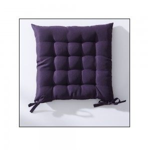 Assise matelassee 40x40cm DEEP PURPLE