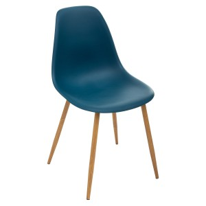 Chaise scandinave Taho navy