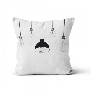 Coussin 40x40 Lampes