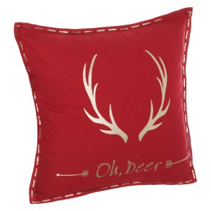 Coussin déhoussable 45x45 Oh Deer