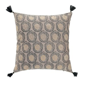 Coussin velours 45x45 cm Or Onyxia