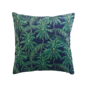 Coussin velours 45x45 Bartemy marine
