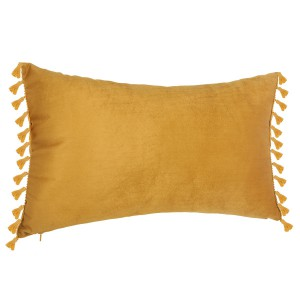Coussin velours Spirit 30x50 ocre