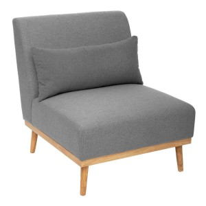Fauteuil Andria gris