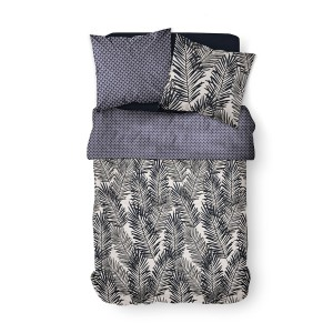 Housse de couette 240x260 Wagga + 2 taies 100% coton 57 fils