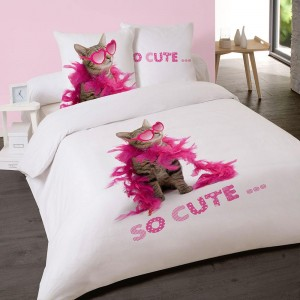 Housse de couette 200x200cm SO CUTE