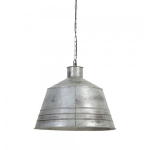 Suspension VIRRAT vintage argent Ø55x50
