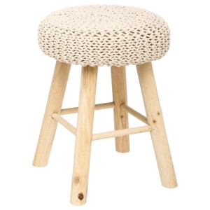 Tabouret Suzette coloris naturel