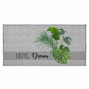 Tapis déco rectangle 57x115 cm Exographic
