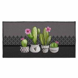 Tapis déco rectangle 57x115 cm Exotic
