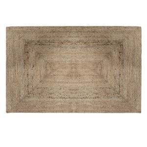 Tapis rectangle en jute 120x170 cm naturel
