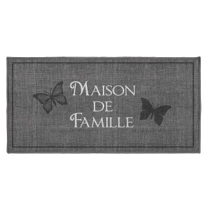 Tapis déco rectangle 57x115 cm Familia