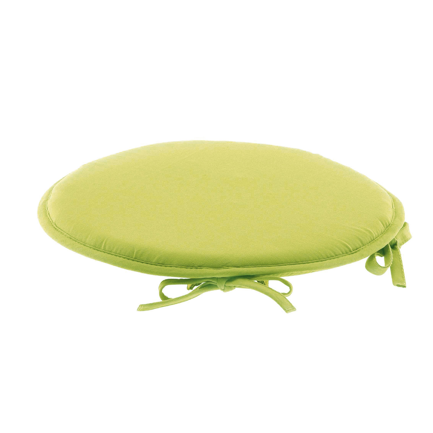 galette de chaise ronde 100 coton vert vert autres ebay. Black Bedroom Furniture Sets. Home Design Ideas