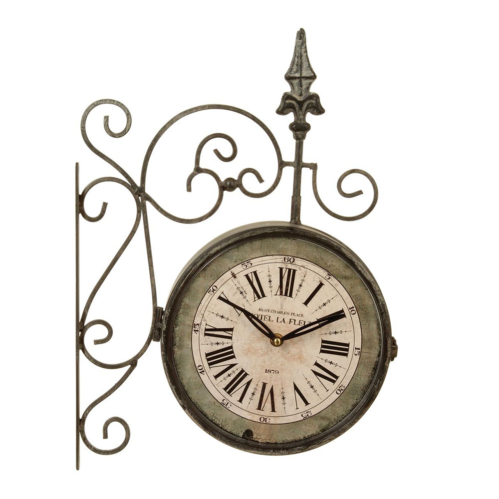 horloge pendule clasf pendule murale vintage. Black Bedroom Furniture Sets. Home Design Ideas