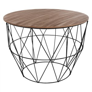 Table basse Atomic blanc
