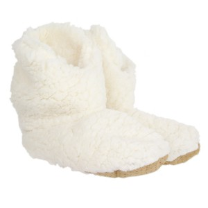 Chaussons Sherpa femme