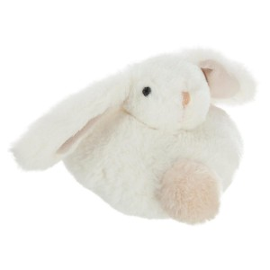 Coussin musical animal mini blanc